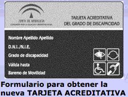 acceso a la información para obtener la tarjeta de discapacidad