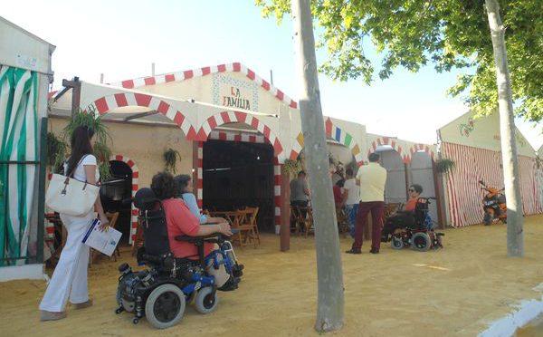 BALANCE ACCESIBILIDAD EN LAS CASETAS DE FERIA 2016