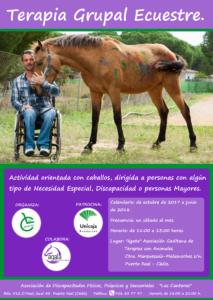 TALLER GRUPAL DE TERAPIA ECUESTRE @ Asociación Ágata | Jarana | Andalucía | España